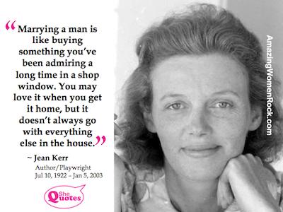 Jean Kerr on marriage