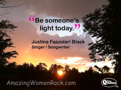 Be somebodys light