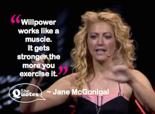 Jane McGonigal willpower