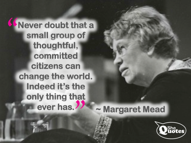 Margaret Mead small group