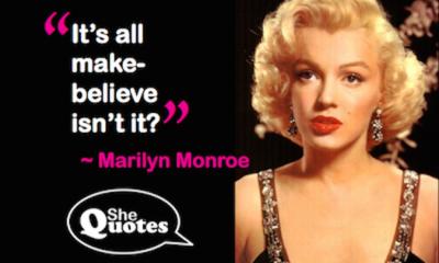 Marilyn Monroe make believe