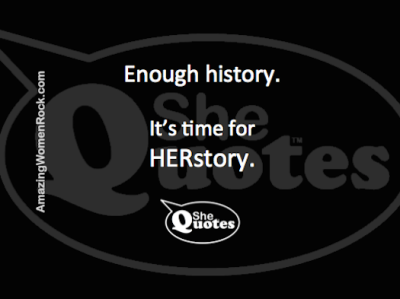 SheQuotes HERstory