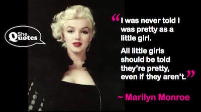 Marilyn Monroe pretty