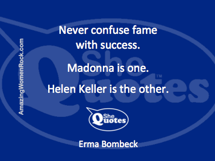 Erma Bombeck fame and success