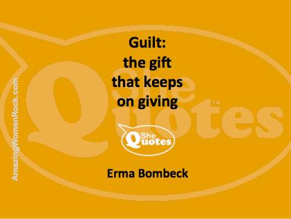Erma Bombeck guilt