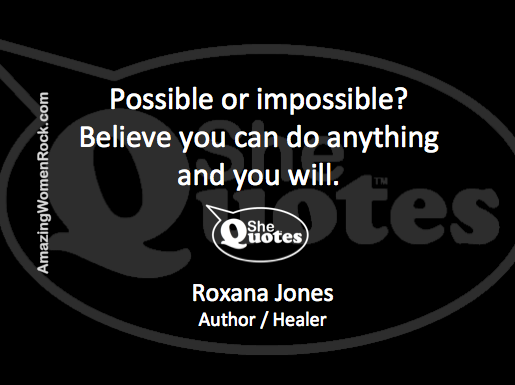 Roxana Jones impossible