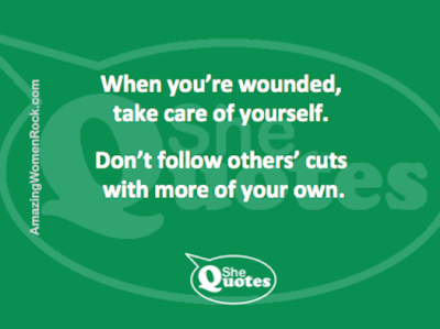 #SheQuotes take care of yourself