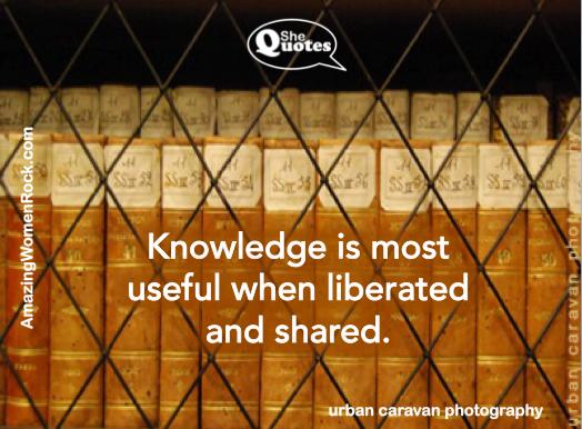 carolyn knowledge is useful