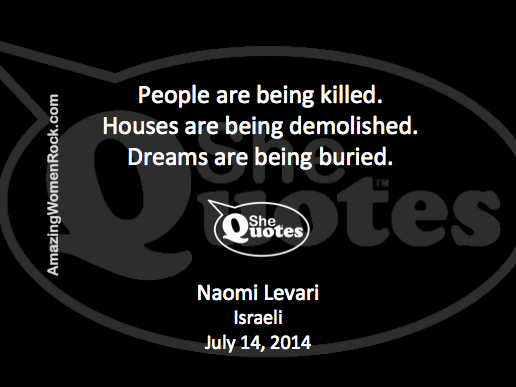 Naomi Levari dreams buried
