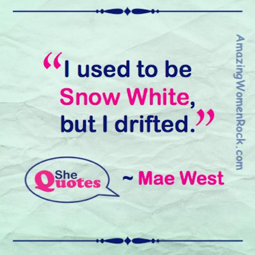 Mae West drifter