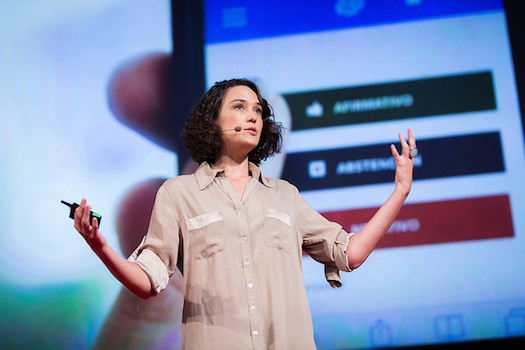 Pia Mancini TEDGlobal 2014 (Photo credit TED)