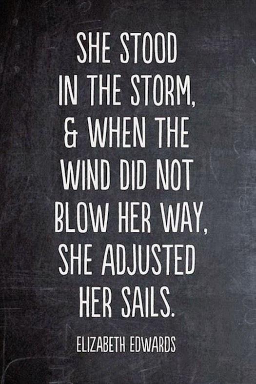 Elizabeth Edwards on sailing