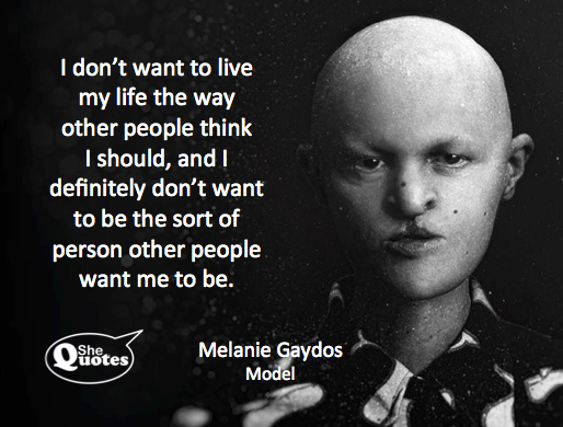 Melanie Gaydos wants to be herself
