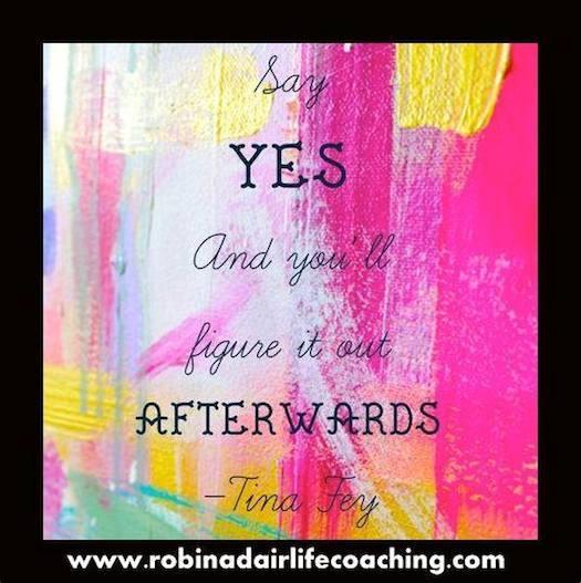 Robin Adair Tina Fey say yes