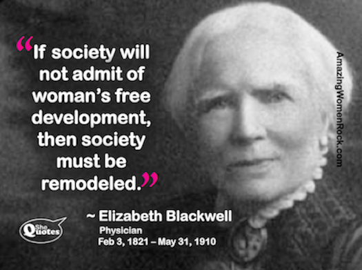 Elizabeth Blackwell remodel society