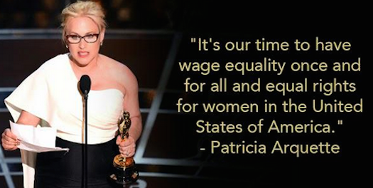 Womens Rights Quotes Shequotes  Patricia Arquette Demands Equality Shequotes Quote
