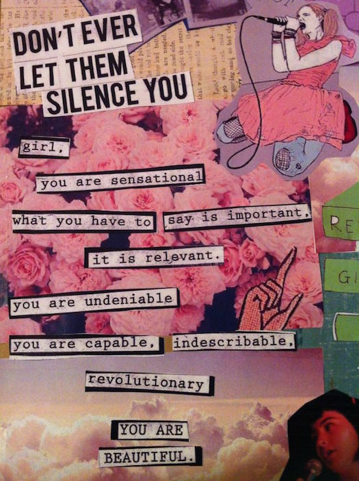 #SheQuotes Don't let them silence you