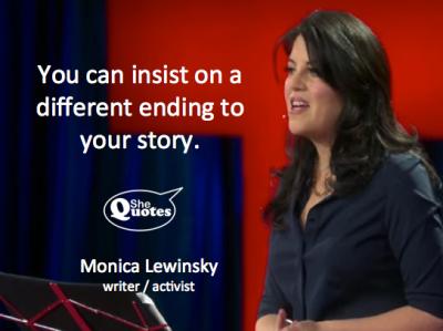 Monica Lewinsky different ending
