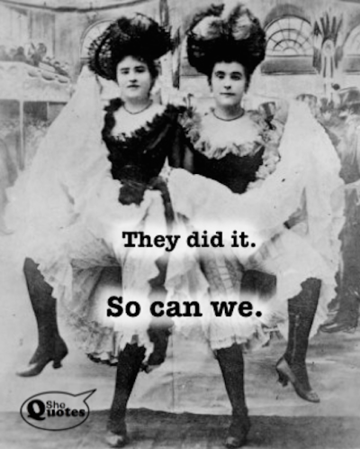 SheQuotes yes we can can