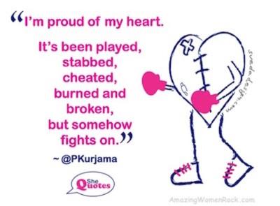 AWR proud of heart