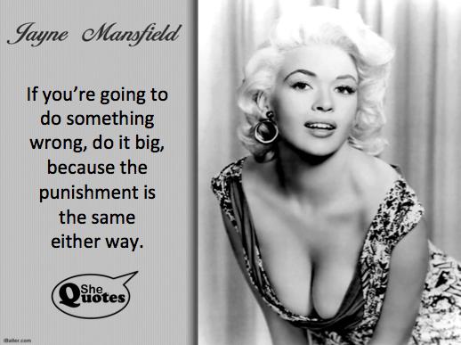 Jayne Mansfield do it big