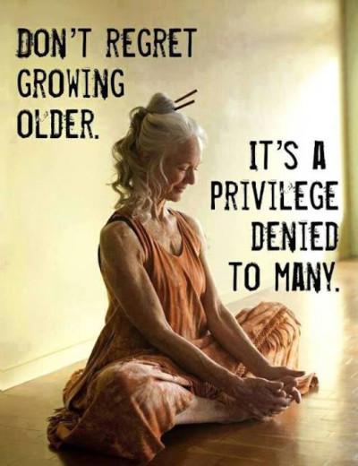 Other embrace growing older