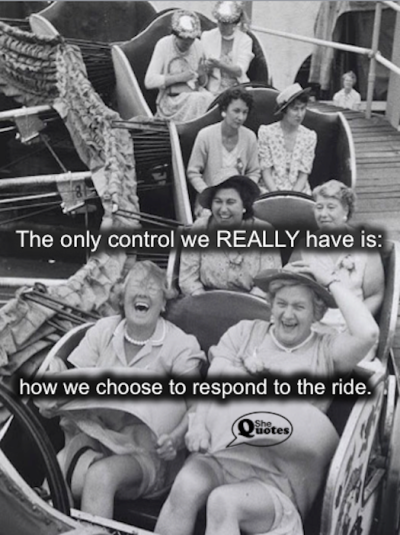 #SheQuotes respond to the ride