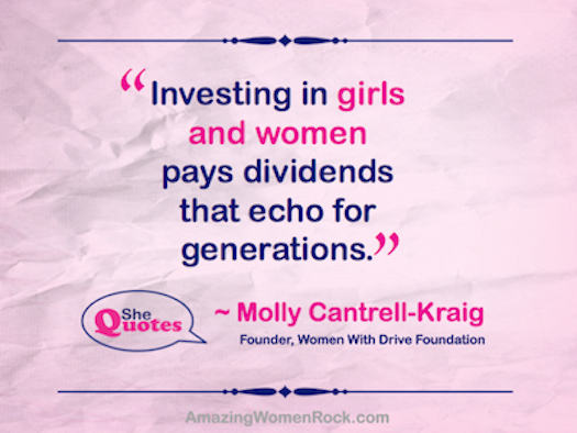 Molly on investing in girls