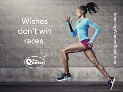 wishes don't win races