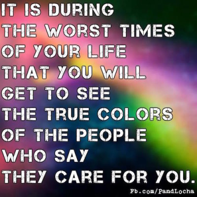Others true colours