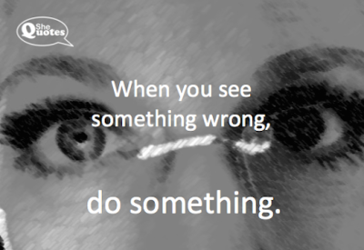#SheQuotes do something