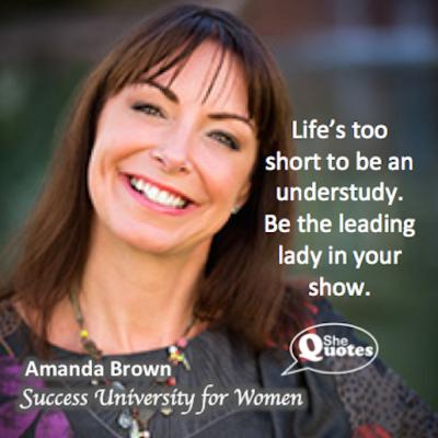 Amanda Brown leading lady