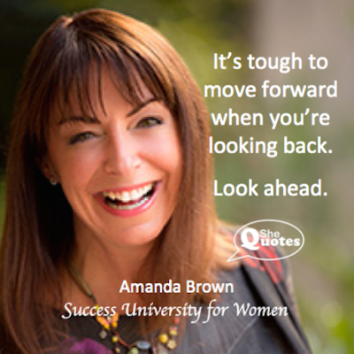 Amanda Brown look ahead