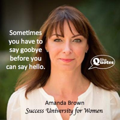 Amanda Brown say hello