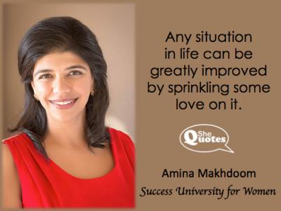 Amina Makhdoom sprinkle love