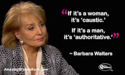 Barbara Walters caustic SQ