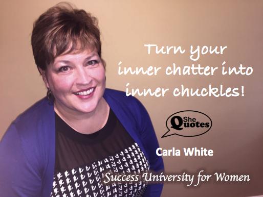 Carla White inner chuckles