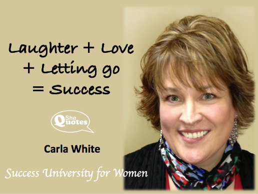 Carla White = success