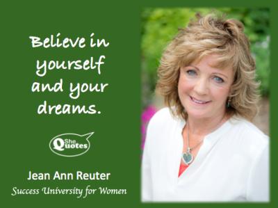 Jean Ann Reuter believe