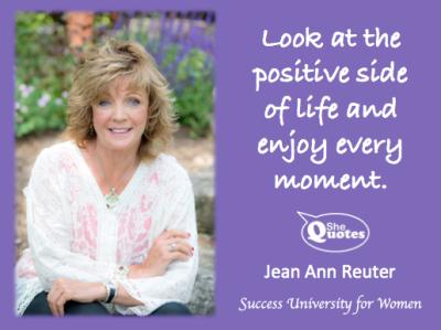 Jean Ann Reuter enjoy