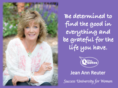 Jean Ann Reuter find the good