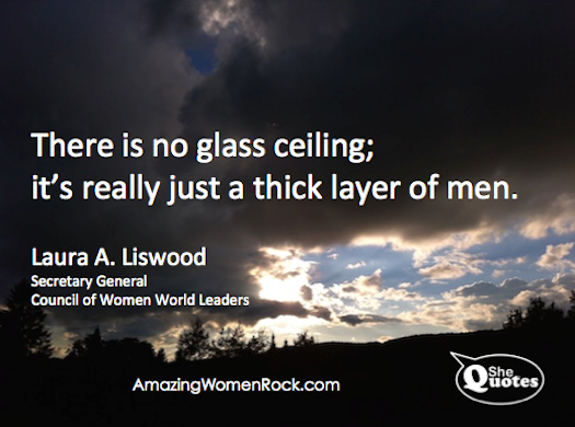 Laura A. Liswood there is no glass ceiling