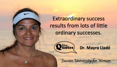 Mayra Llado extraordinary success