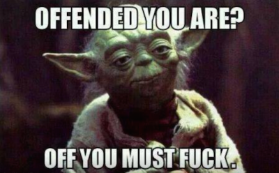 #SheQuotes off you must f___