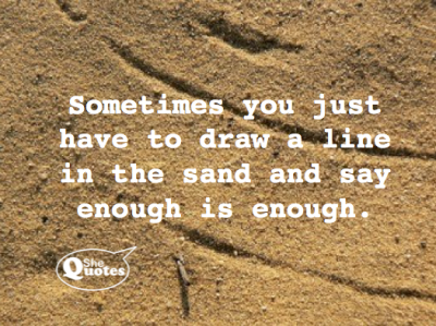 #SheQuotes enough is enough
