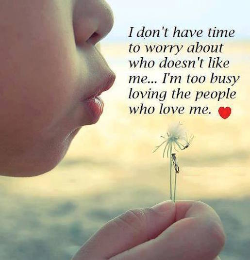 Shequotes I M Busy Loving The People Who Love Me