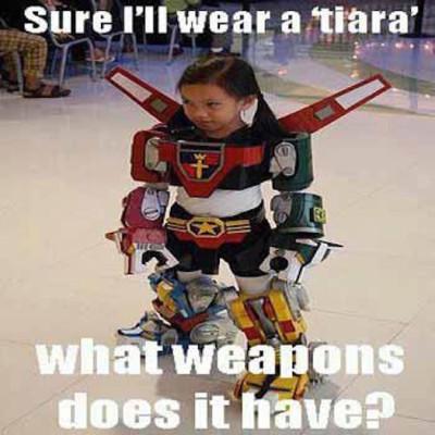 Wear a tiara