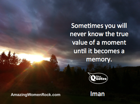 Iman remember each moment