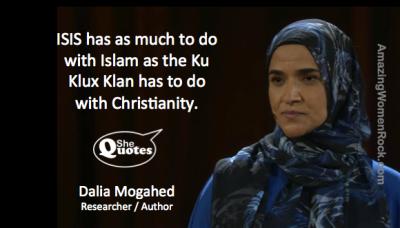 Dalia Mogahed Isis and the KKK