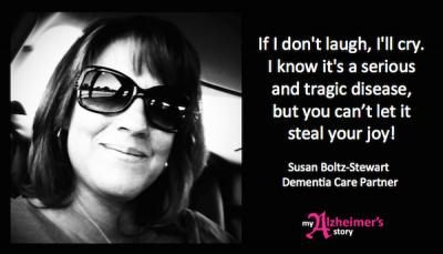 Susan Boltz-Stewart ~ You can't let it steal your joy
